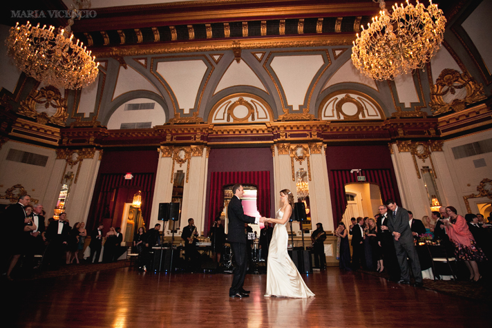 Wedding at the Belvedere in Baltimore