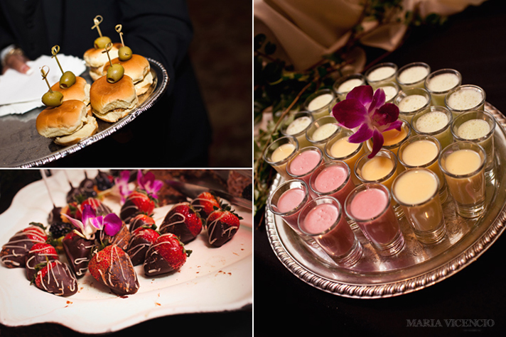 Truffles Catering at the Belvedere, Maria Vicencio Photography