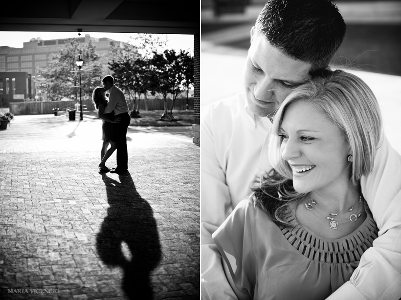 Fells Point engagement, Maria Vicencio Photography