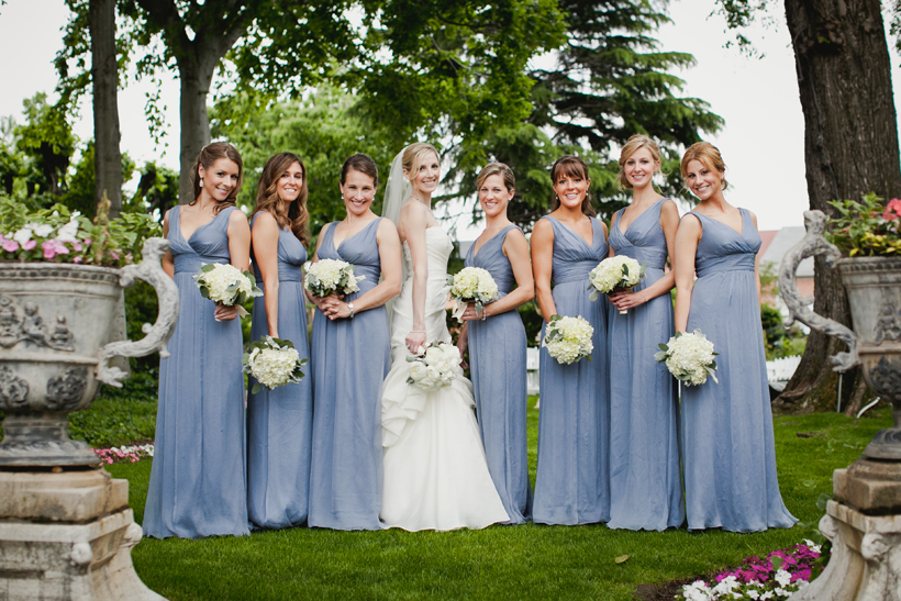 Bridesmaids at the Meridian House by Maria Vicencio Photography