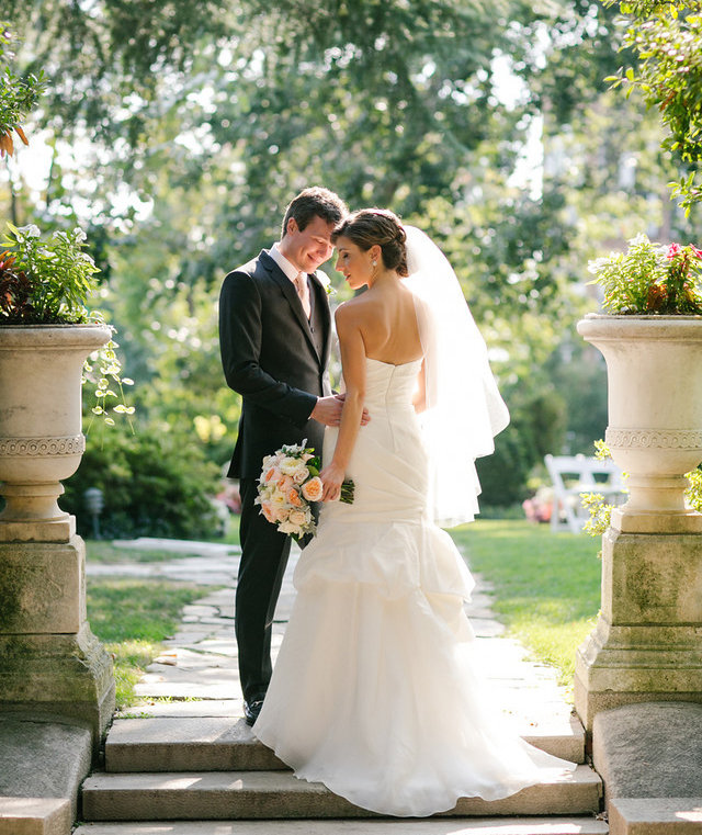 Bride and groom at Meridian House - Maria Vicencio Photography Weddings