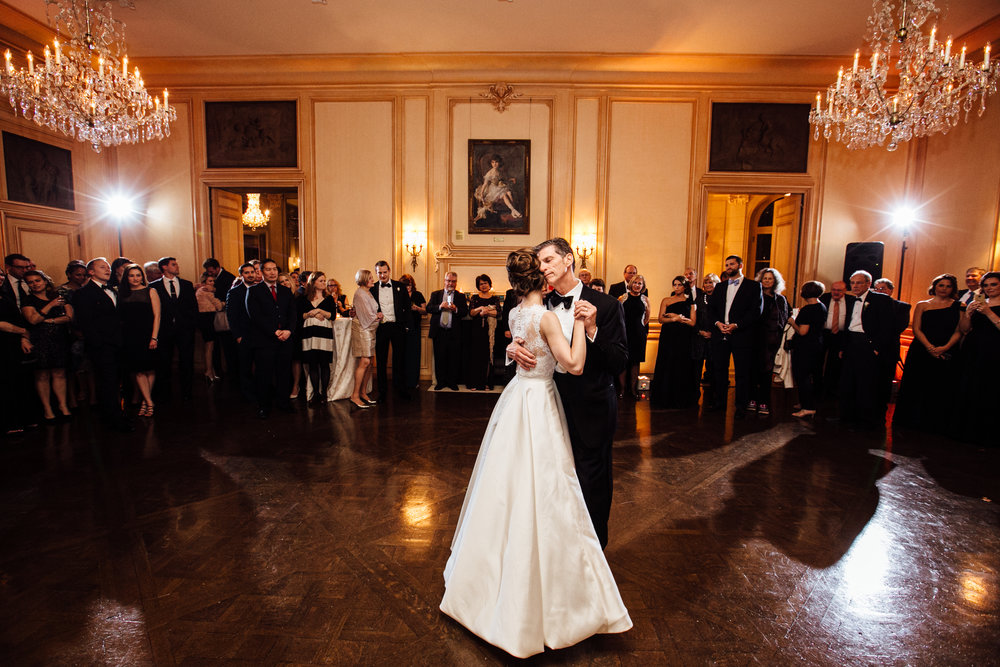 Bride dancing with her father at Meridian House in DC - Maria Vicencio Photography Weddings