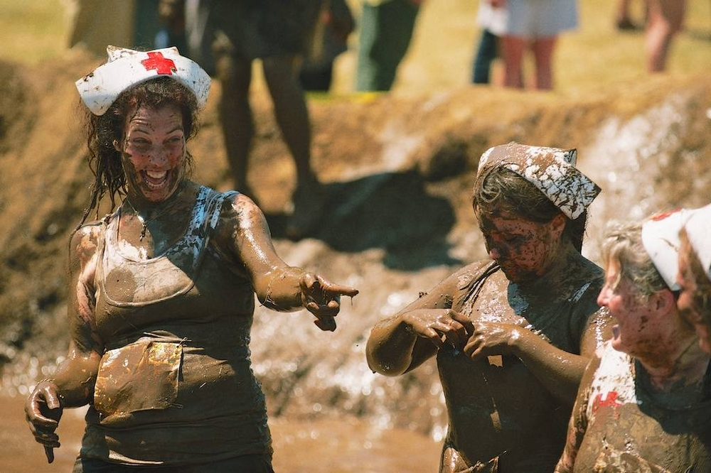 Photos of Dirty Dash Participants in Eugene Oregon 2012