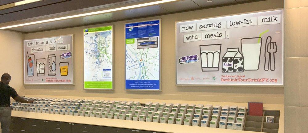 Transit Center ads