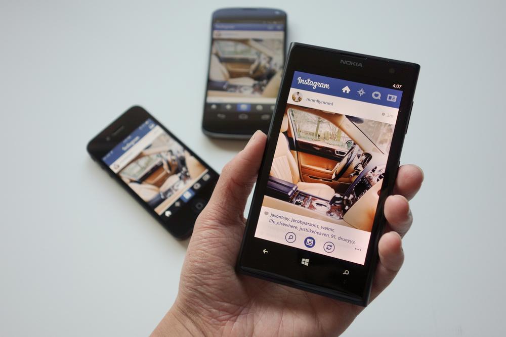 Скачать Instagram для Нокиа Люмия - официальное приложение