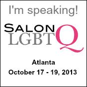 I'm speaking at Salon LGBTQ!