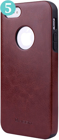 Megix Original Series Leather Case for iPhone 5 & 5S