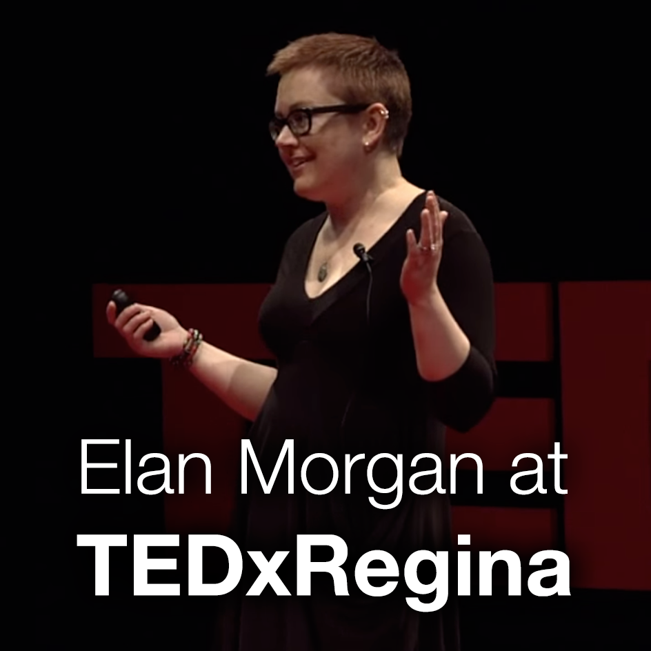 watch Elan Morgan's TEDx talk