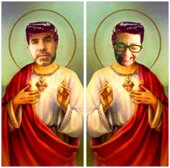 Saint Palinode and Saint Schmutzie