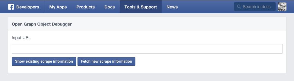 Facebook og debugger