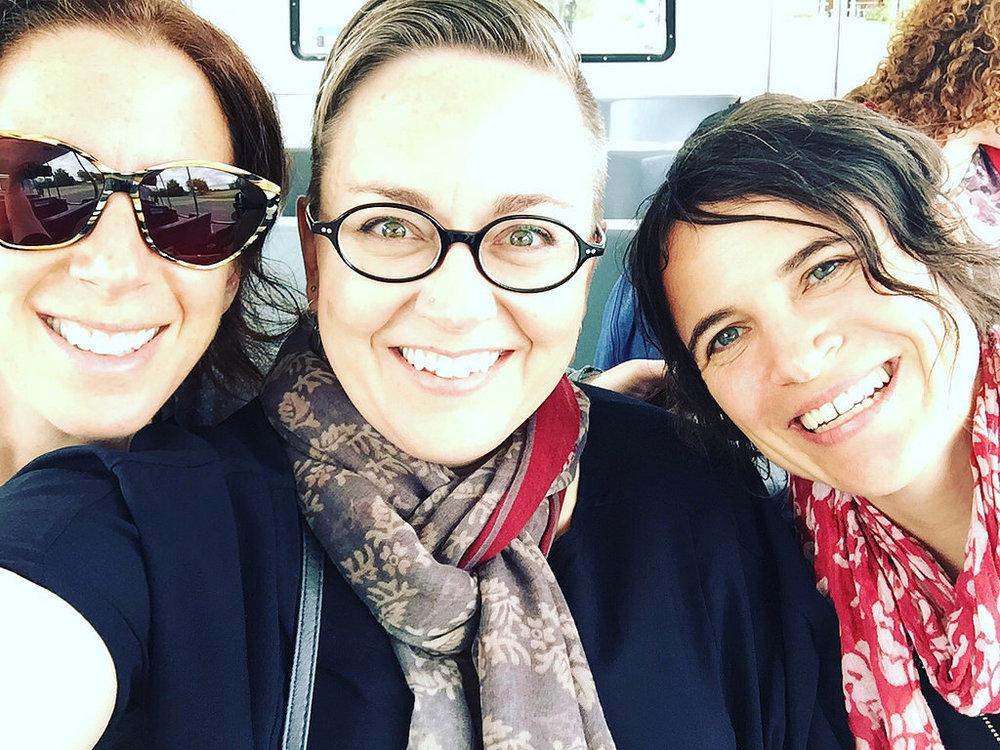 Susan, me, and Sarah