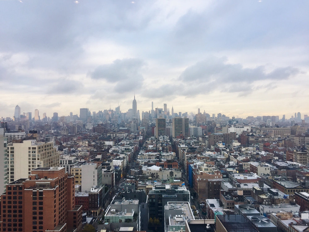 a view from  BBH New York