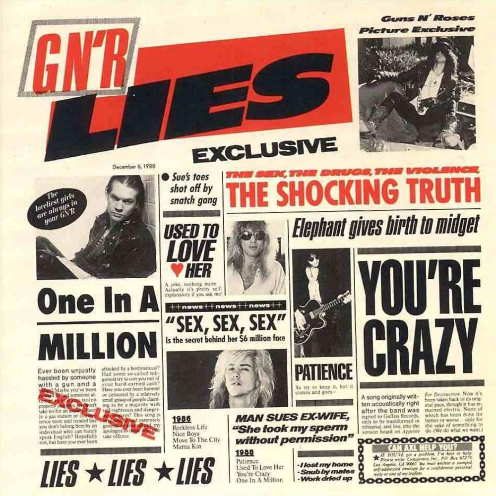 Guns N' Roses Lies