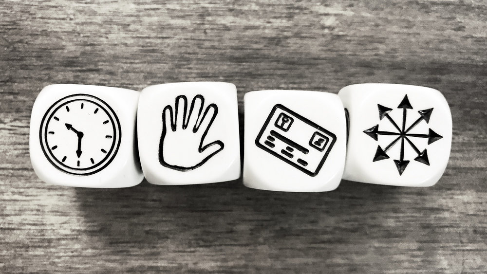 It's time to stop email clutter, according to Rory's Story Cubes.