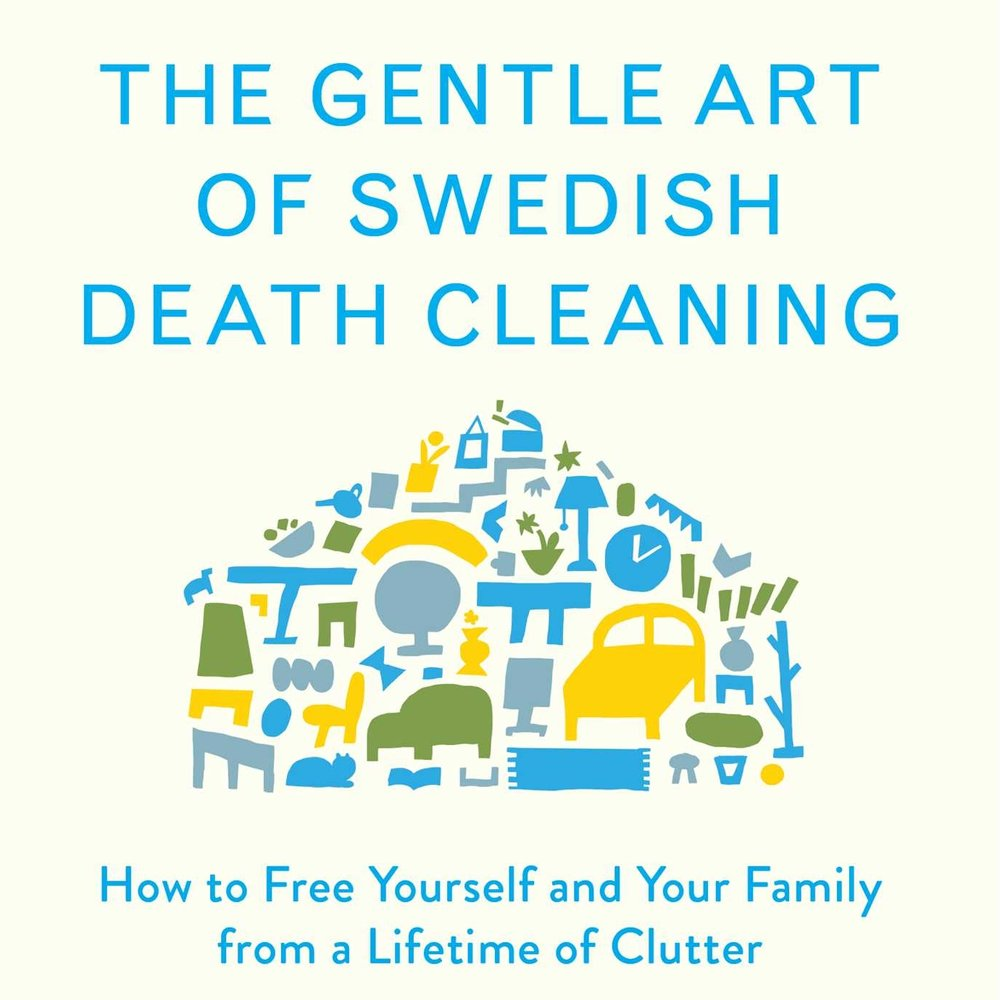 Margareta Magnusson is the author of  The Gentle Art of Swedish Death Cleaning .
