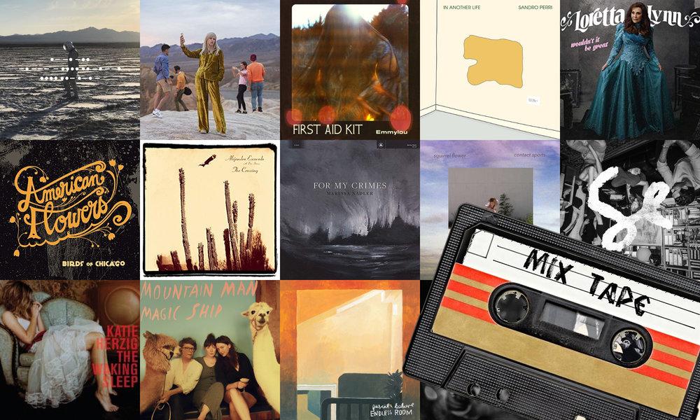 Elan's October 2018 Mixtape album covers