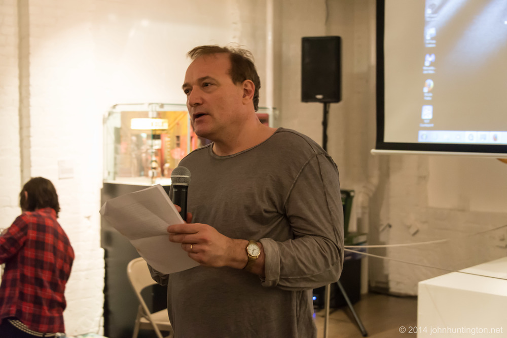 Event co-organizer and Al biographer Josh Alan Friedman
