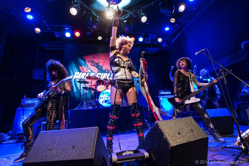 Girls Girls Girls at the Bowery Ballroom, June, 2014