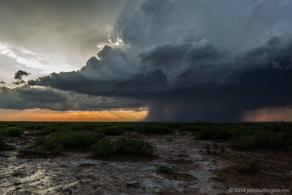 Severe Thunderstorm in New Mexico, May 2014