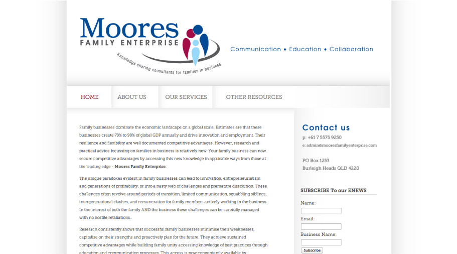 Moores Family Enterprise