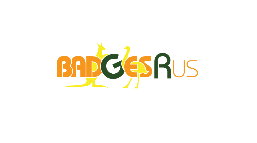 Badges R us Logo / Brand Design