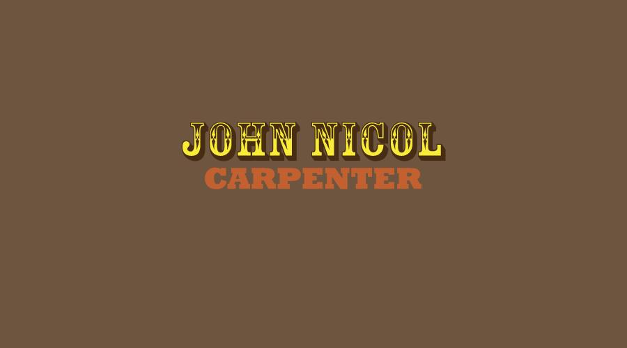 John NicolLogo / Brand Design