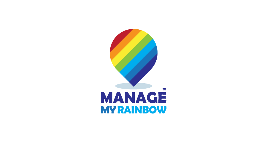 Manage My Rainbow Logo / Brand Design