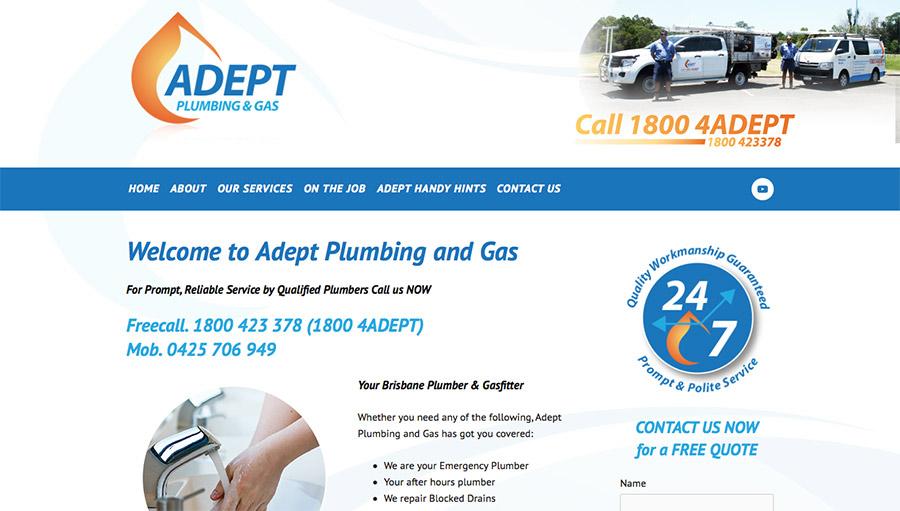 Adept Plumbing and Gas