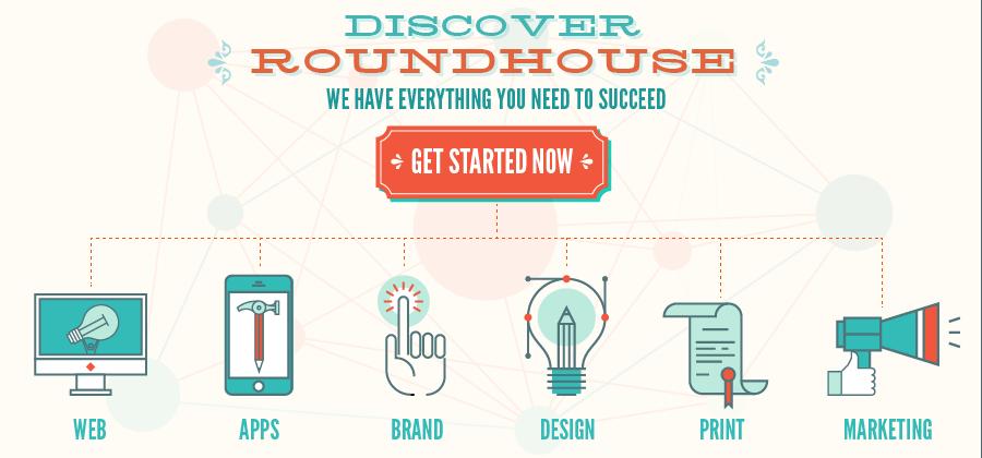 Web design, App Development, Brand, Logo, Graphic Design, Printing, Marketing