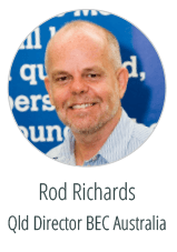 Rod Richards Graphic Design brisbane  Client