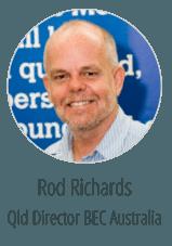 Rod Richards Graphic Design brisbane Client