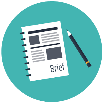 our process graphic design brief brisbane