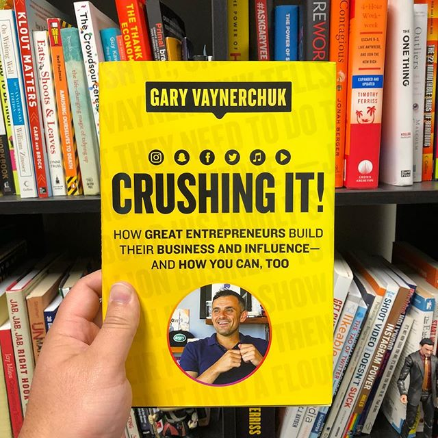 This was the book I was waiting for and it was well worth the wait. @garyvee delivers and leaves you with no excuses as to why you're not crushing it! I already gifted this to someone and is now in my top 5! Loved seeing some of my homies featured in the book. #entrepreneur #bookstagram #crushingit #hustle #bookclub