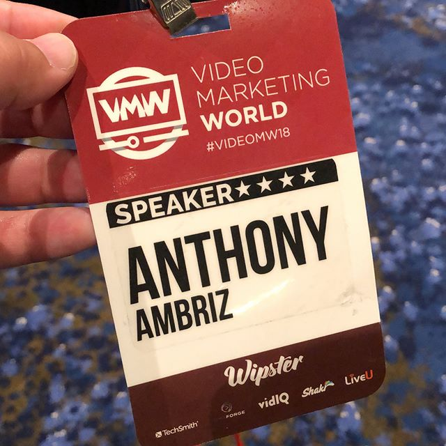 Video Marketing World was amazing! Thank you @jeremyvest for the invite and privilege to speak. #videomw18 shout out to the @gaylordhotels #gaylordtexan #videomarketing #linkedinstrategy #speaking #publicspeaker #dallastexas
