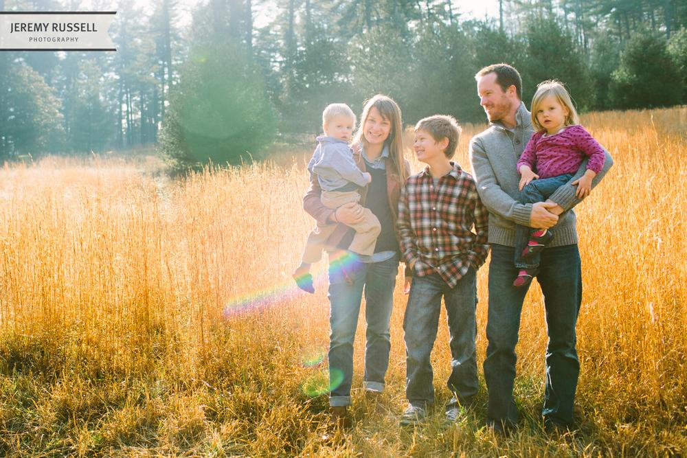 McIntosh family portrait session