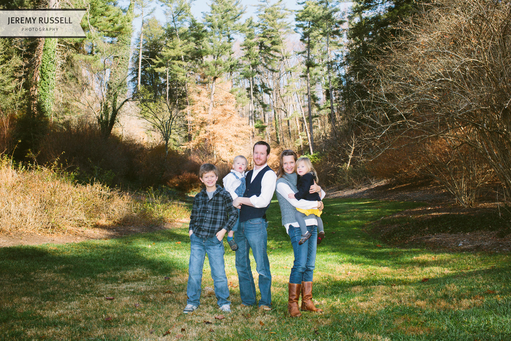 McIntosh Asheville family portrait
