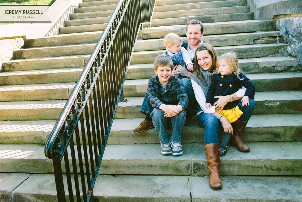 Rachael McIntosh family portrait