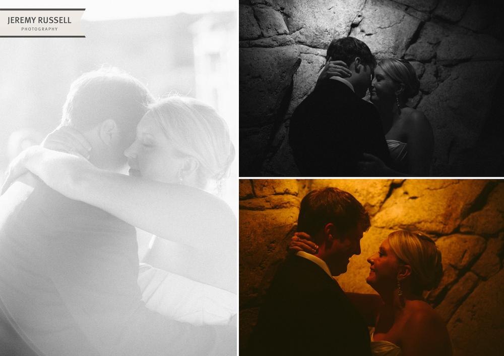 Bride and groom at Grove Park Inn