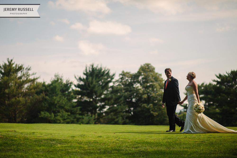 Post wedding stroll at Grove Park Inn