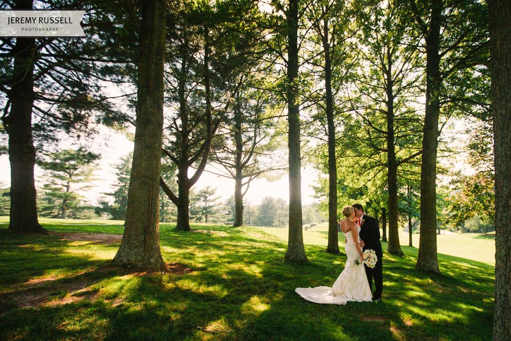 Asheville wedding portrait