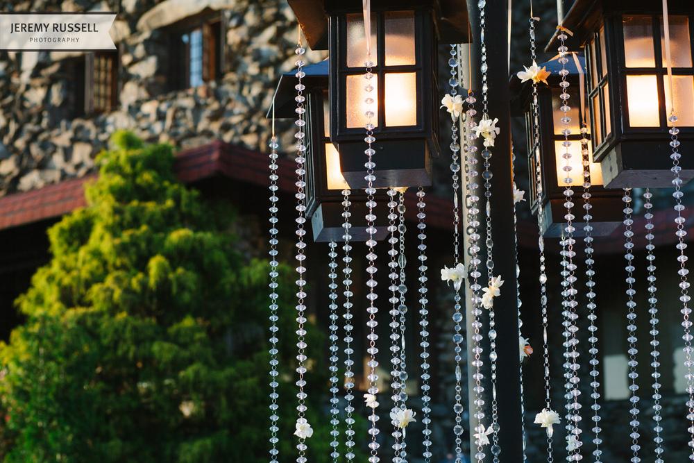 Wedding reception at Grove Park Inn. BobbyMarks Designs.
