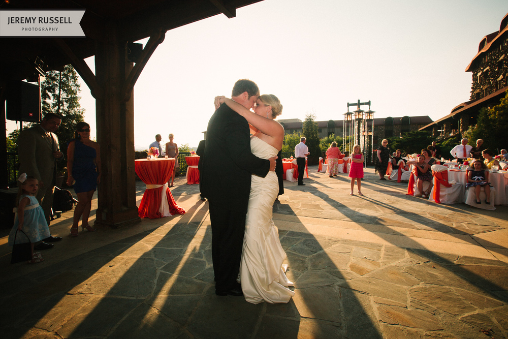 First dance at Grove Park Inn