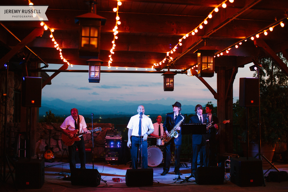 The Business band at Grove Park Inn wedding