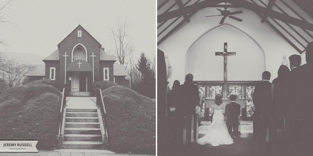 Intimate North Carolina wedding location