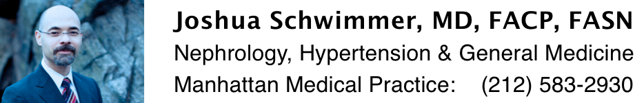 Joshua Schwimmer, MD: Nephrology and Hypertension