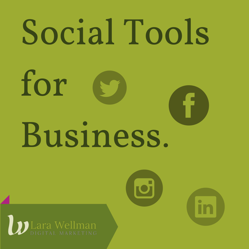 Social Tools for Business