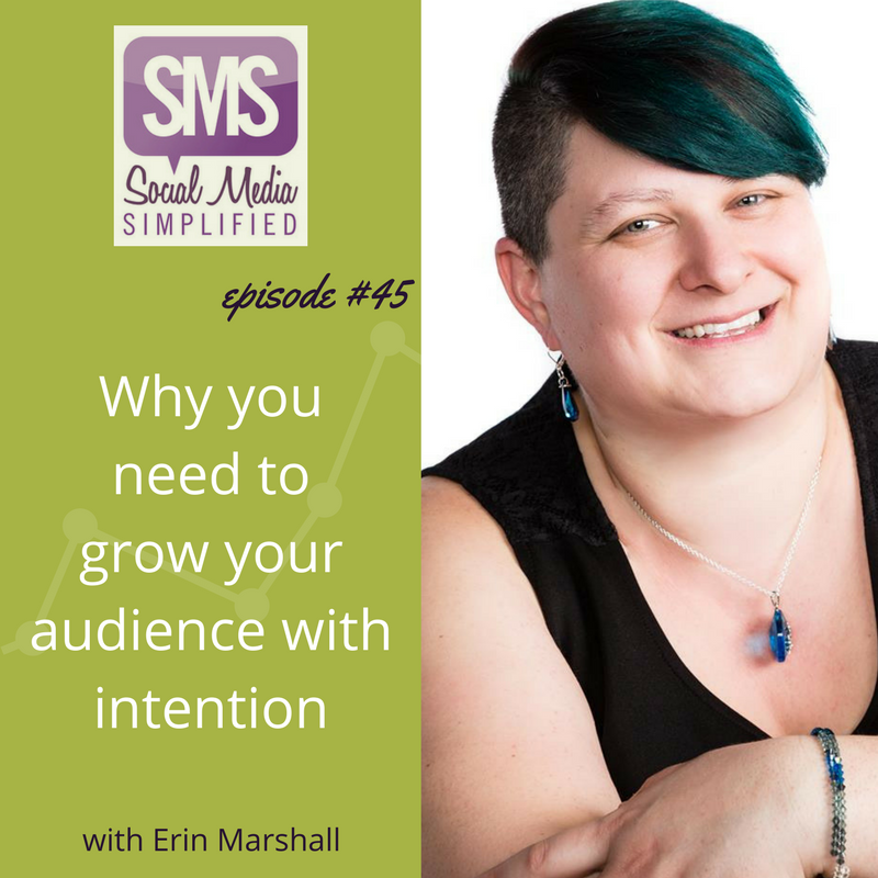 Build your audience with intention