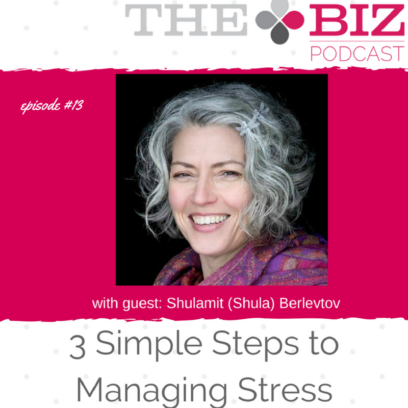 3 Simple Steps to Managing Stress
