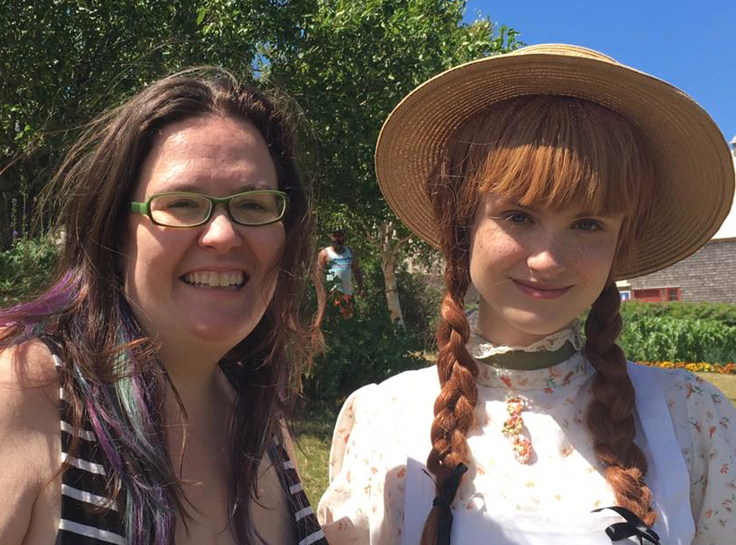Hanging out with Anne of Green Gables on PEI