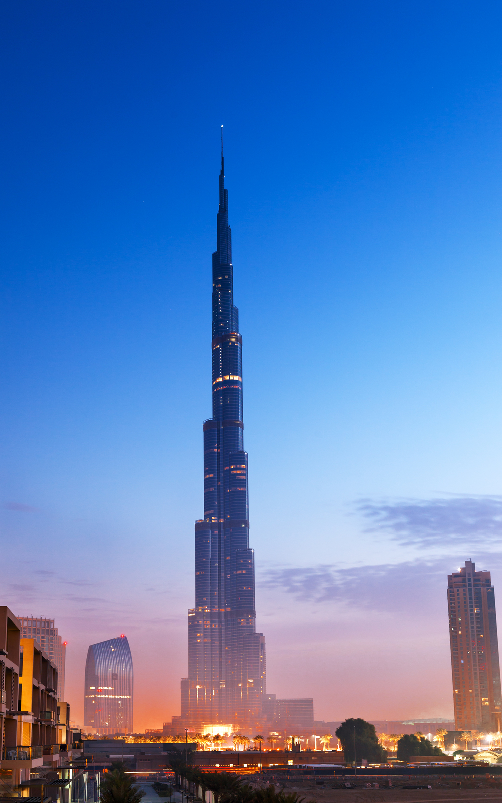 The way of the future? The Burj Khalifa in Dubai